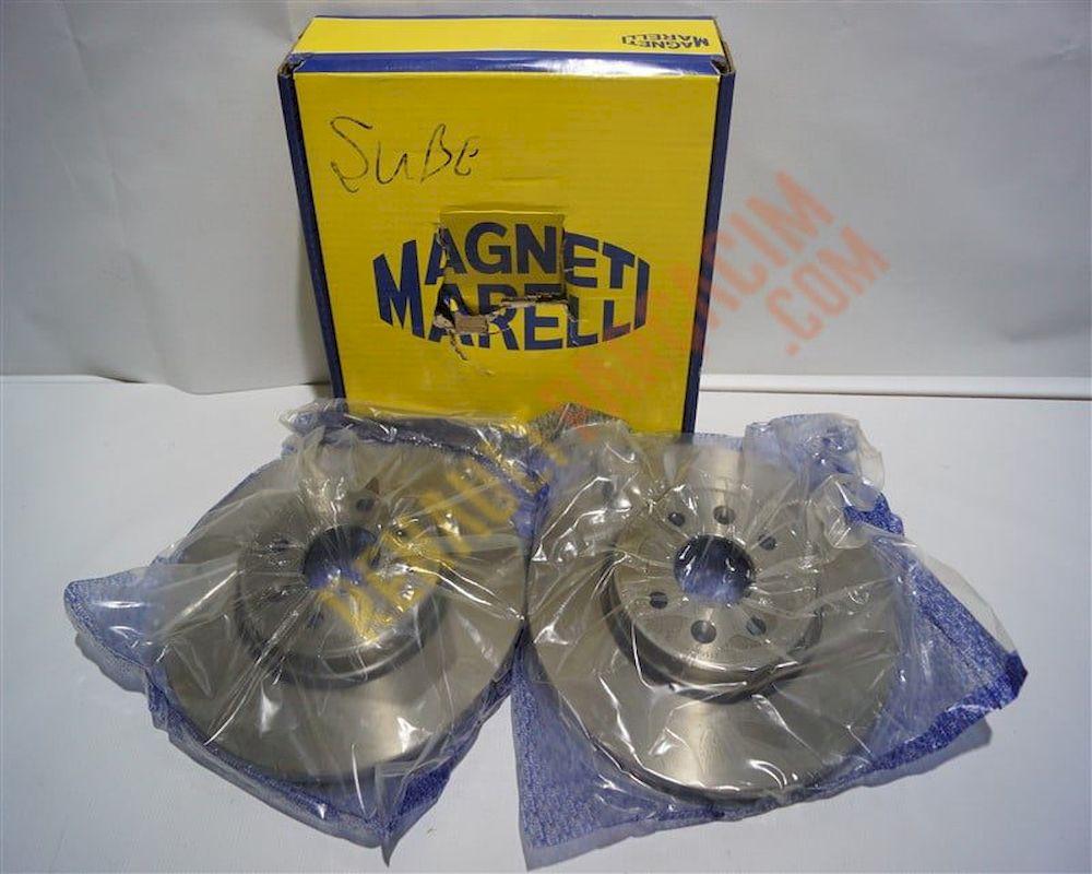 Megane 2 Ön Disk Takımı Magneti Marelli 402069518R