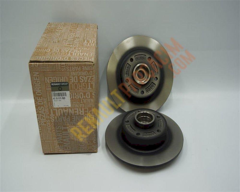 Megane 3 Fluence Arka Disk Takımı 432007595R
