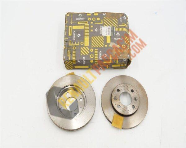 Clio 2 Megane 1 R21 R19 Ön Disk Takımı 7701204286